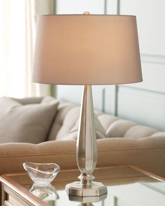 Arteriors Polished Nickel Table Lamp   Traditional   Table Lamps     By  Horchow
