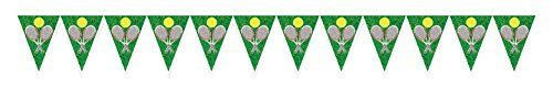 Beistle Tennis Pennant Banner 11 x 7 4 Multicolor *** To view further for this item, visit the image link.