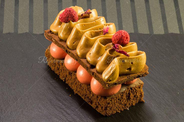 Csokis-málnás desszert (glutén- és laktózmentes)