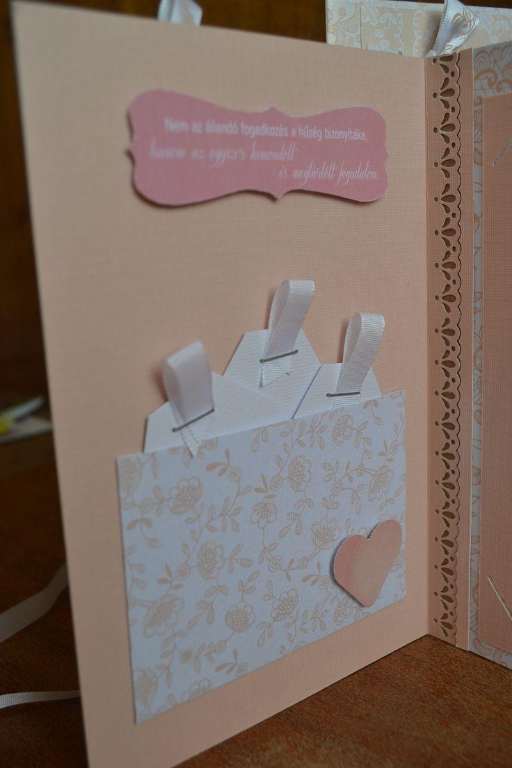 Pocket for wedding cards 2.