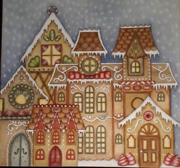 Johanna Basford-Christmas-Picture by Gyöngyi Varga.