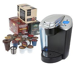 Keurig Ultimate Single Serve Coffee Brewer w/K-Cups & My K-Cup Filter