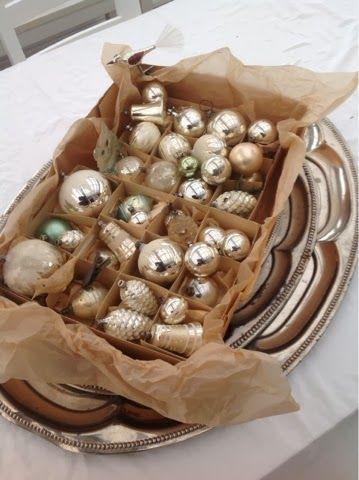 For the love of vintage silver blown glass Christmas baubles! www.MadamPaloozaEmporium.com www.facebook.com/MadamPalooza