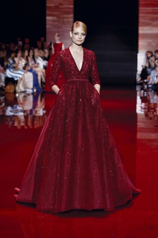 Elie Saab Haute Couture Autumn/Winter 2013-2014 Fashion Show | Di Nozze