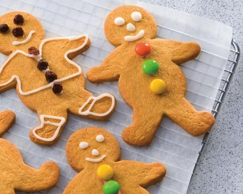 Recipes for Toddlers: Gingerbread Men | Forbaby.co.nz