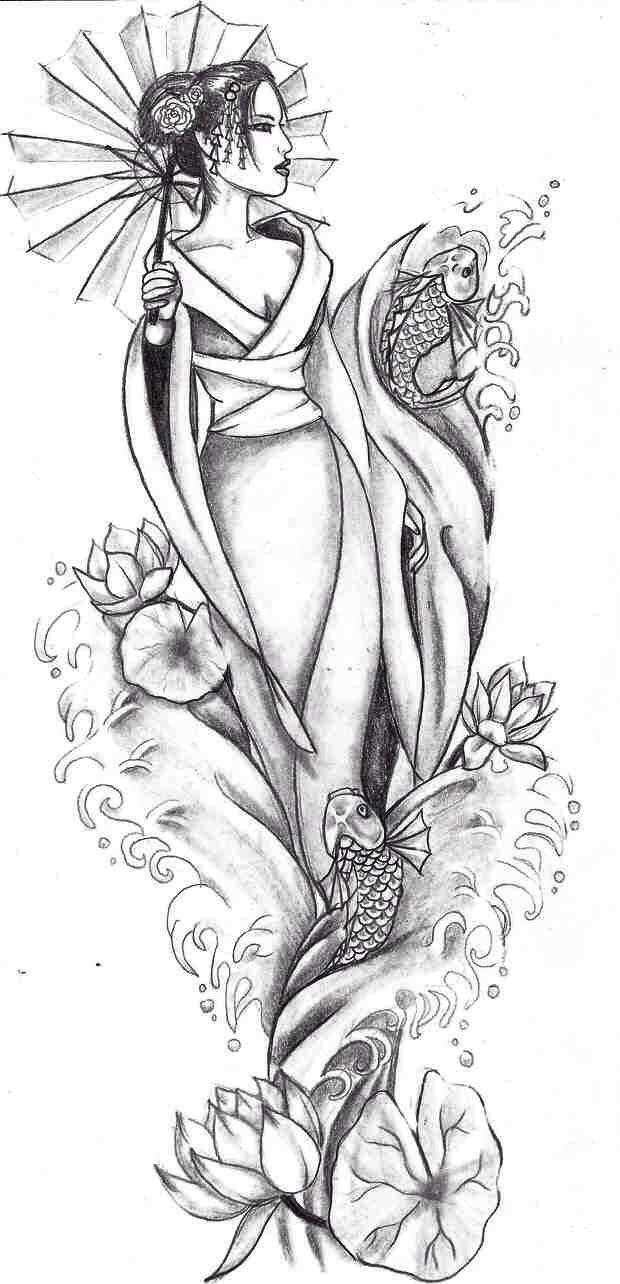 Merwomen – #geisha #Merwomen
