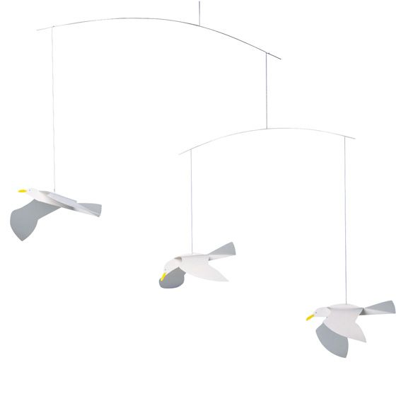 Soaring Seagulls by Flensted Mobiles