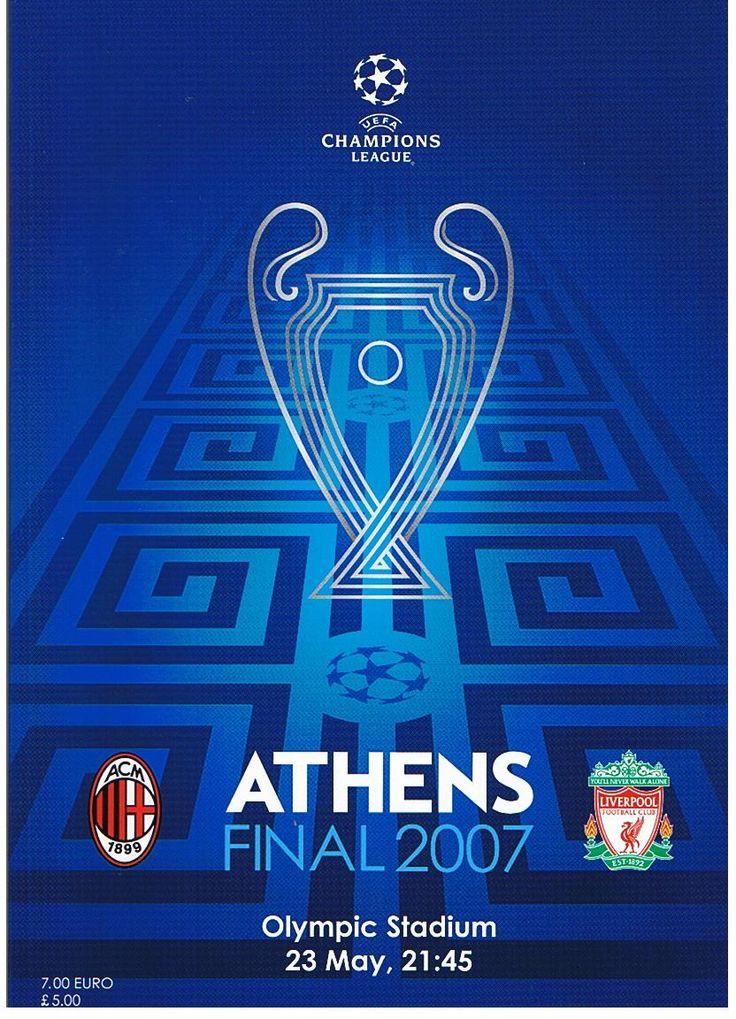 2007 Champions League Final AC Milan vs Liverpool