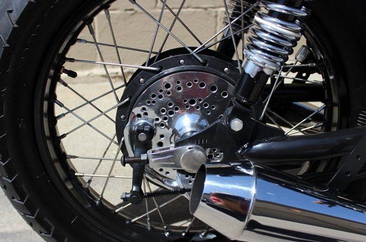 Кафе рейсер Honda CB500T Blackjack