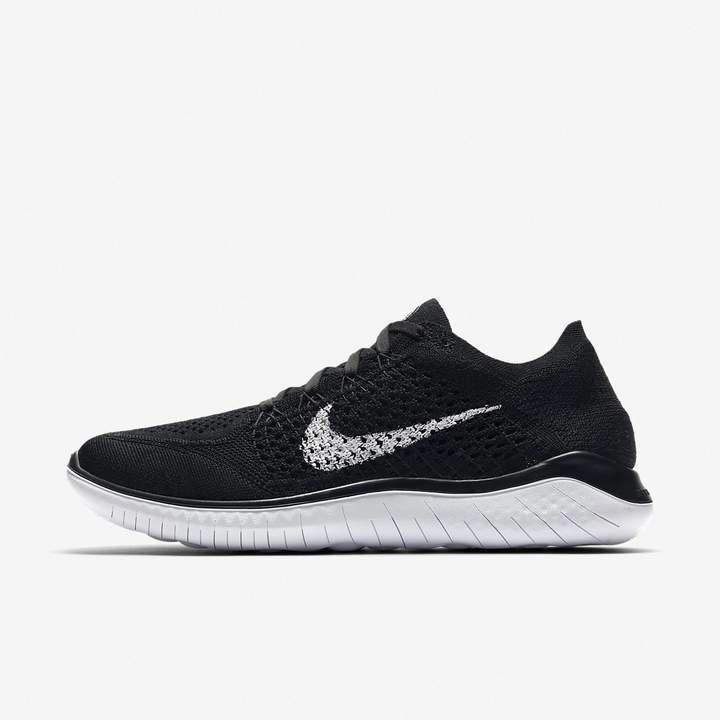 Nike Free Rn Flyknit 2018 Women S Running Shoe Black Running Shoes Nike Free Nike Women Shoes Air Max