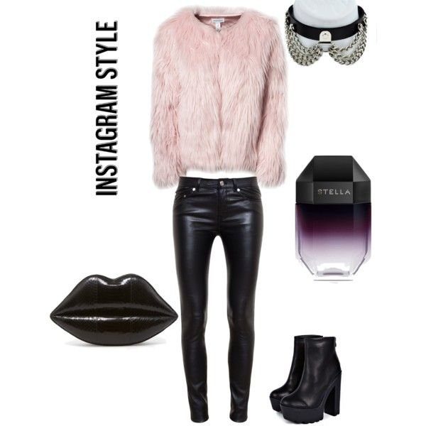 A fashion look from December 2014 featuring Estradeur jackets, Yves Saint Laurent pants and Boohoo boots. Browse and shop related looks.