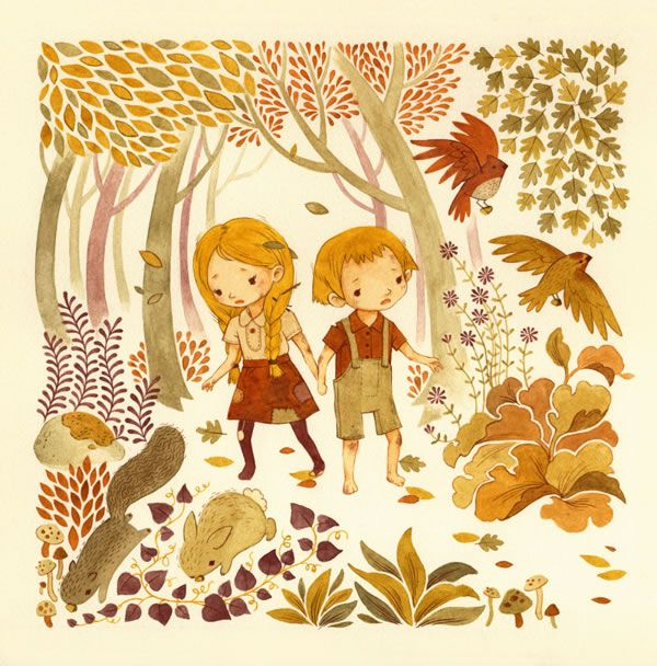 Adorable Children's Book Illustrations by Teagan White