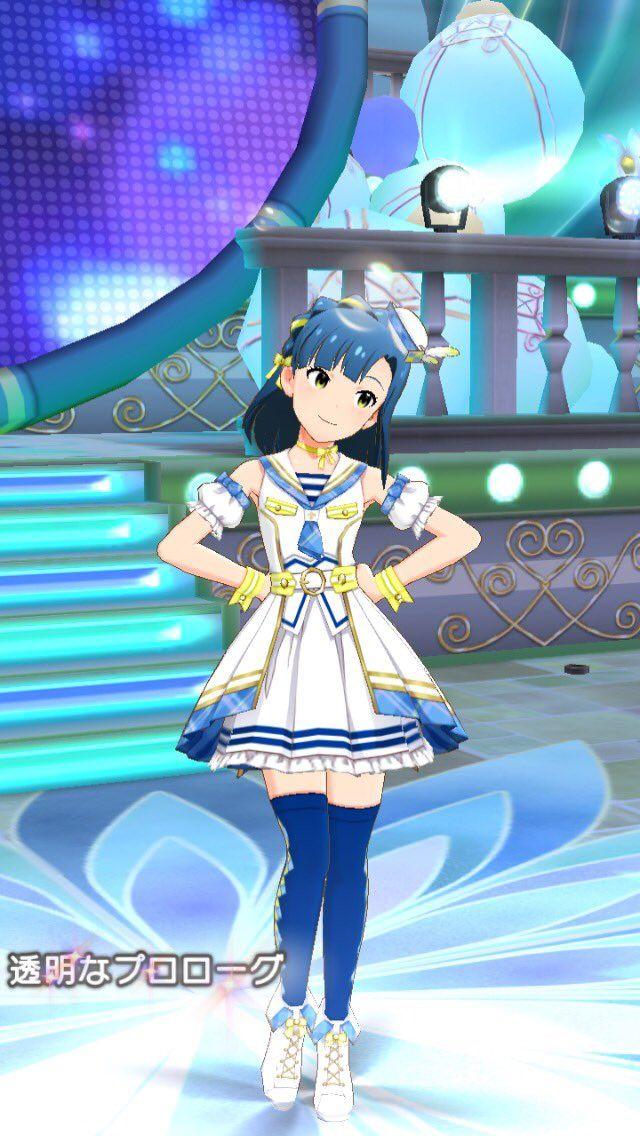 【ミリシタ】ssr七尾百合子の衣装が可愛いすぎる!!スクショはこれは止まらないぞ! ミリシタ衣装 Pinterest