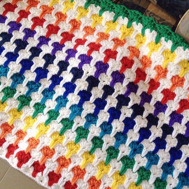 Crochet Heart Blanket & Yarn Splitting Questions - The Crafty Mummy
