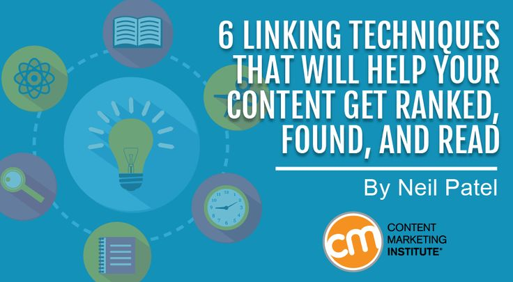 Linking techniques that will help your content to be found