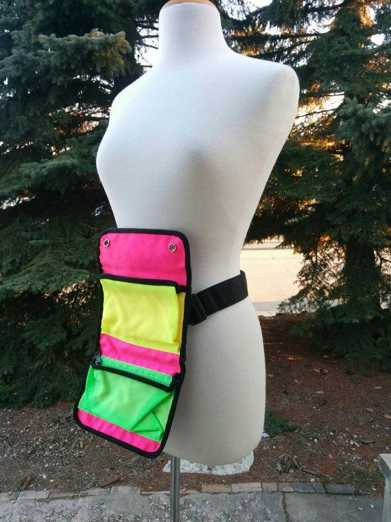 Check out this item in my Etsy shop https://www.etsy.com/listing/287320119/1980s-loreal-paris-neon-fanny-pack-make