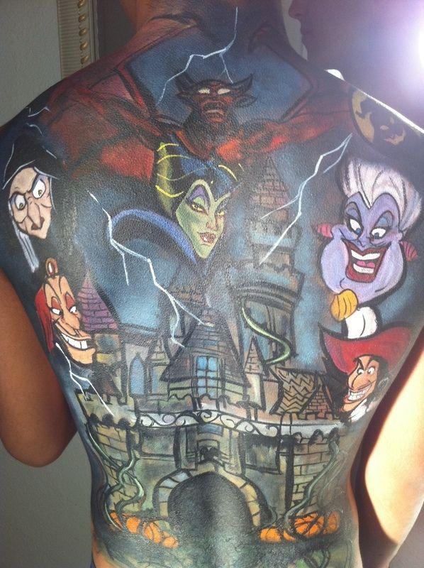 disney tattoos | Disney Villains ∙ Creation by Danielle G. on Cut Out + Keep