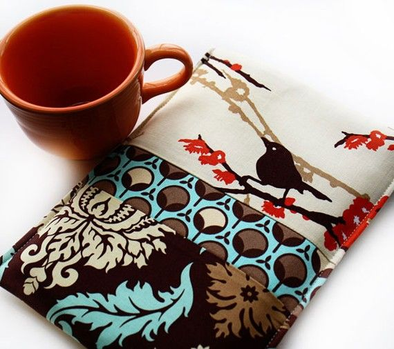 Kindle case with sparrows