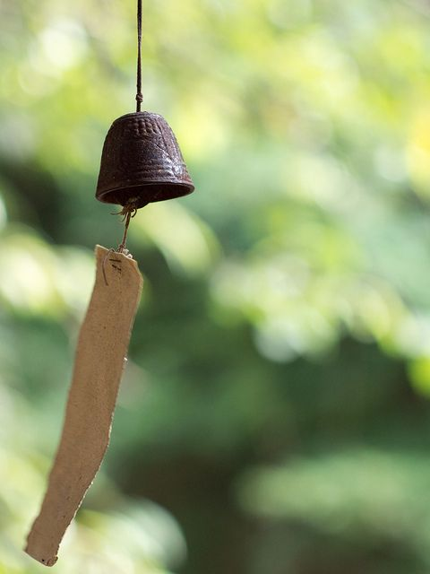 Love listening to my fu-rins  Japanese wind chime 風鈴 (fu-rin) #relaxwithsussan