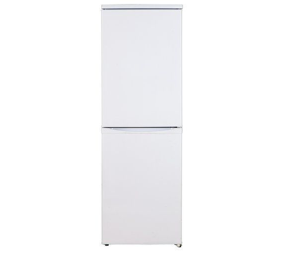 Buy Bush BSFF50152W Fridge Freezer - White at Argos.co.uk, visit Argos.co.uk to shop online for Fridge freezers, Large kitchen appliances, Home and garden #HomeAppliancesFreezers