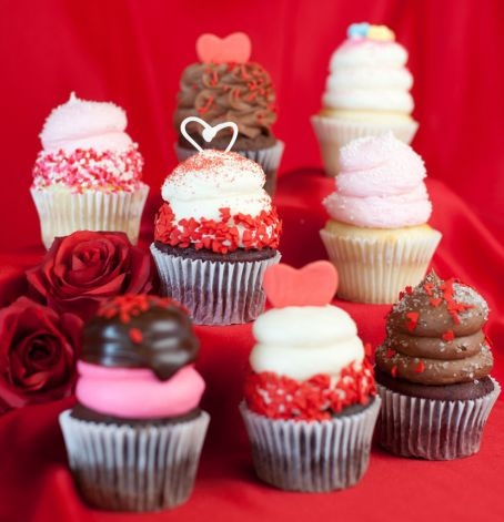LOVE Box from Gigi's Cupcakes.  Perfect sweet treat for your sweetheart.
