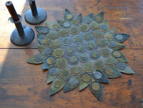 early penny rug