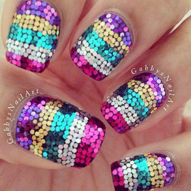 Instagram photo by gabbysnailart #nail #nails #nailart | See more nail designs at http://www.nailsss.com/acrylic-nails-ideas/2/