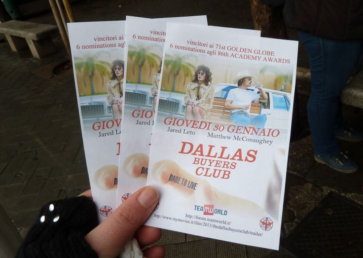 Dallas Buyers Club    Static representation - Street Team