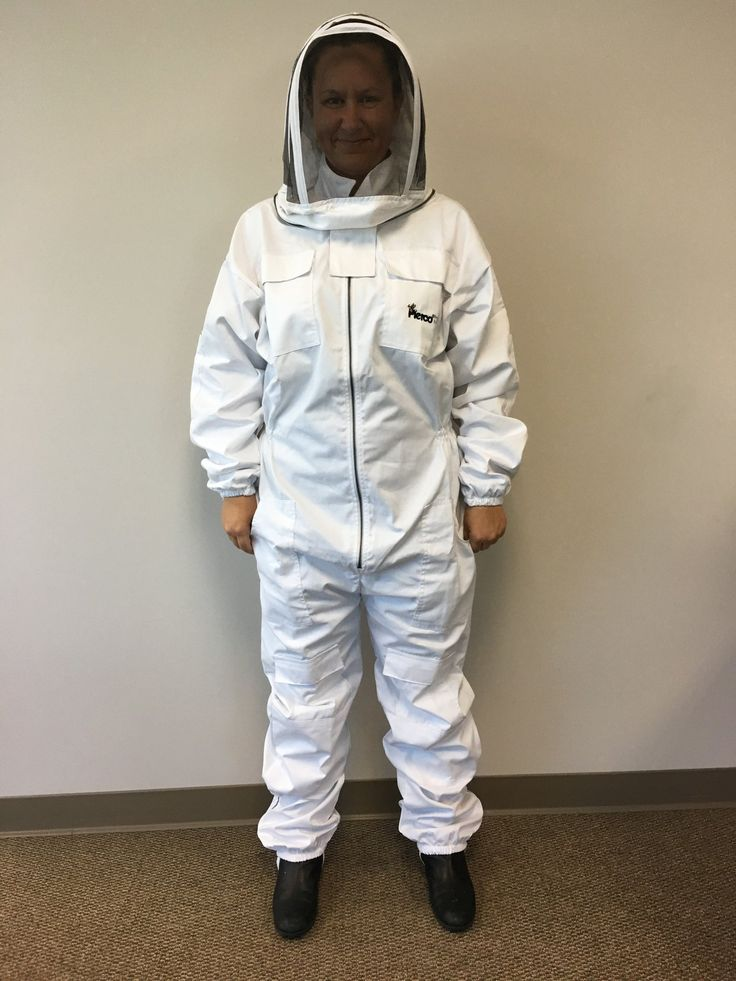 Cotton Bee Suit with Hood
