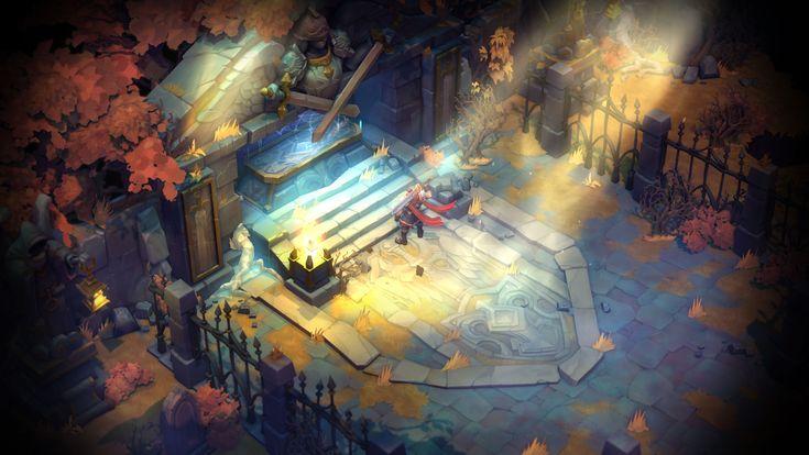 Battle Chasers: Nightwar Game Revealed! - NeoGAF
