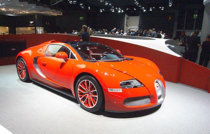 Bugatti Veyrot on the Bugatti Stand