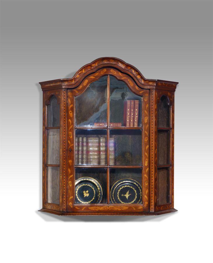 Dutch marquetry cabinet