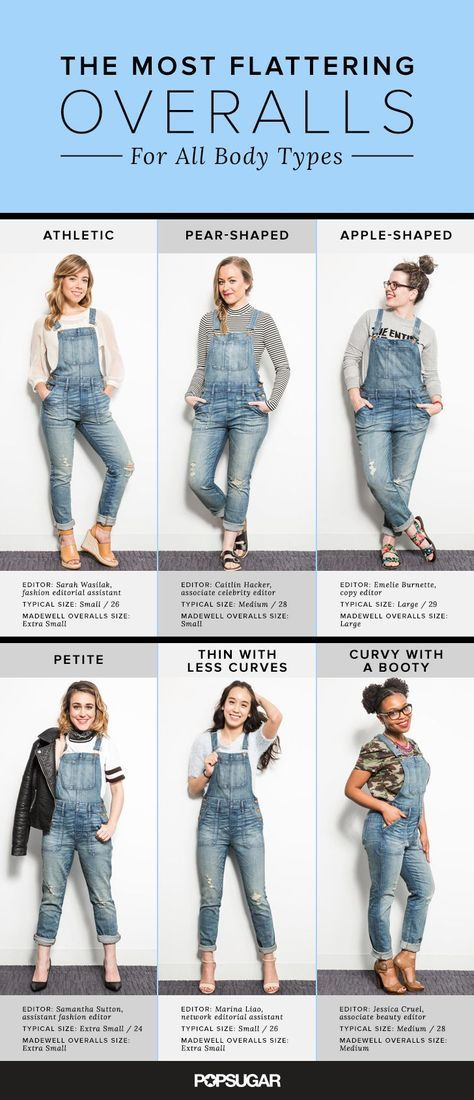 Spoiler alert: We may have just found the most flattering pair of overalls out there. 7 @POPSUGAR editors with different body types tried on the skinny style @Madewell overalls. Here's how each lady worked them and what we thought.