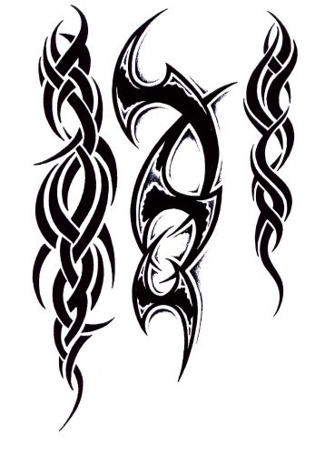1000 ideas about tribal tattoo designs on pinterest for Tribal family tattoo