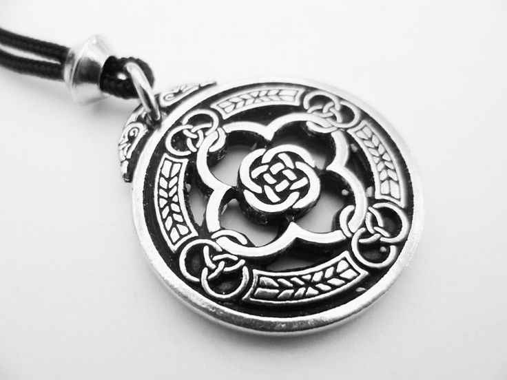 Celtic Warrior's shield Pewter Pendant, Protection from harm & evil #NecklacePendant