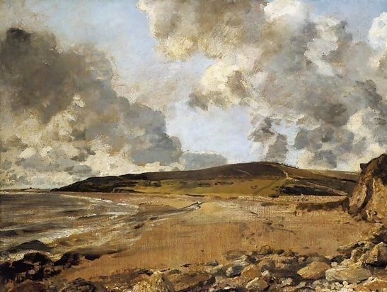 Not only 'Scumbling' but by John Constable - Weymouth Bay