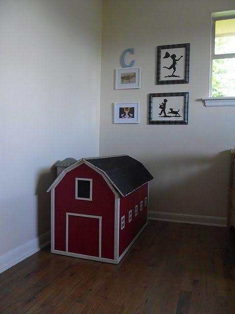 grandpa's homemade barn toybox