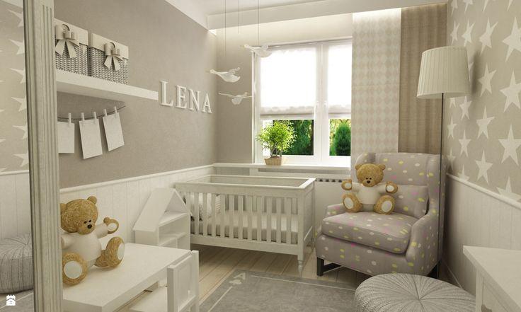 Dla półrocznej Lenki - zdjęcie od Grafika i Projekt architektura wnętrz - Pokój dziecka - Styl Skandynawski - Grafika i Projekt  architektura wnętrz