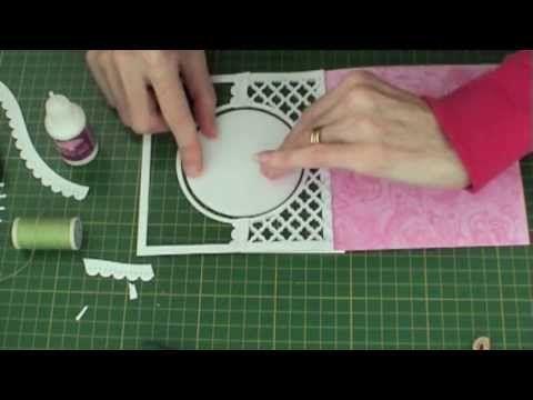 ▶ Z Fold Spinning Circle Card - YouTube