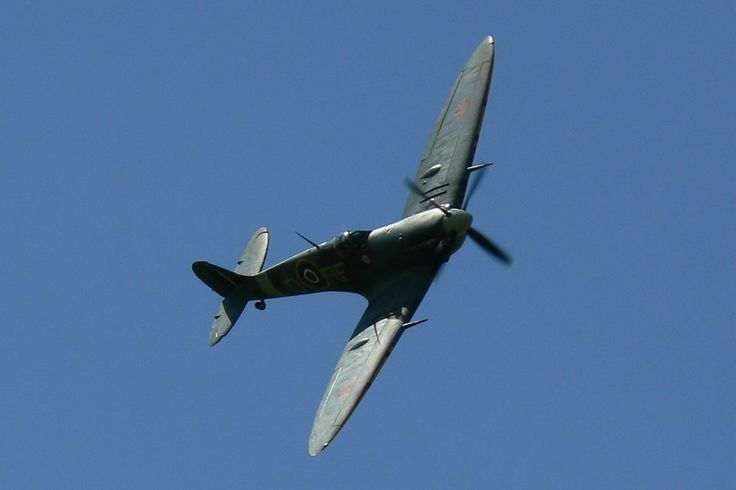 Spitfire of the BBMF by Pat Patrick - copyright by NTGP07