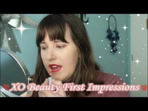 XO Beauty Makeup First Impressions | Ashley Ruth