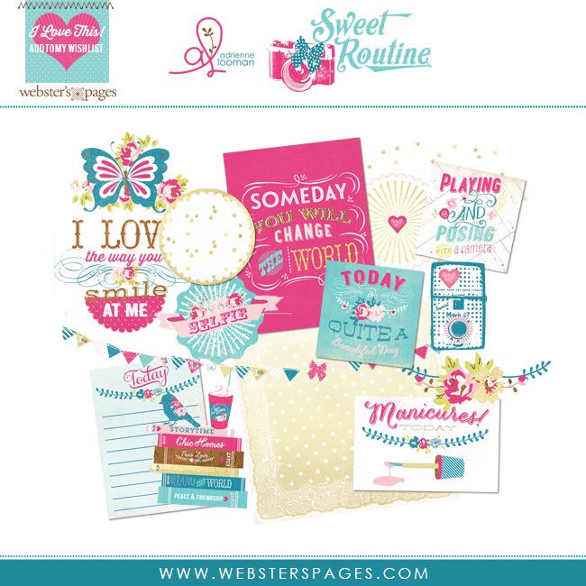 CHA 2014 Blog_websters_pages_adrienne_looman_sweet_routine