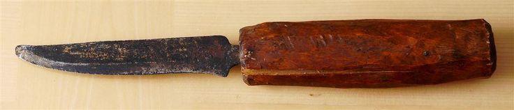 Antik allmogekniv på Tradera.com - Knivar från Skandinavien | Knivar |