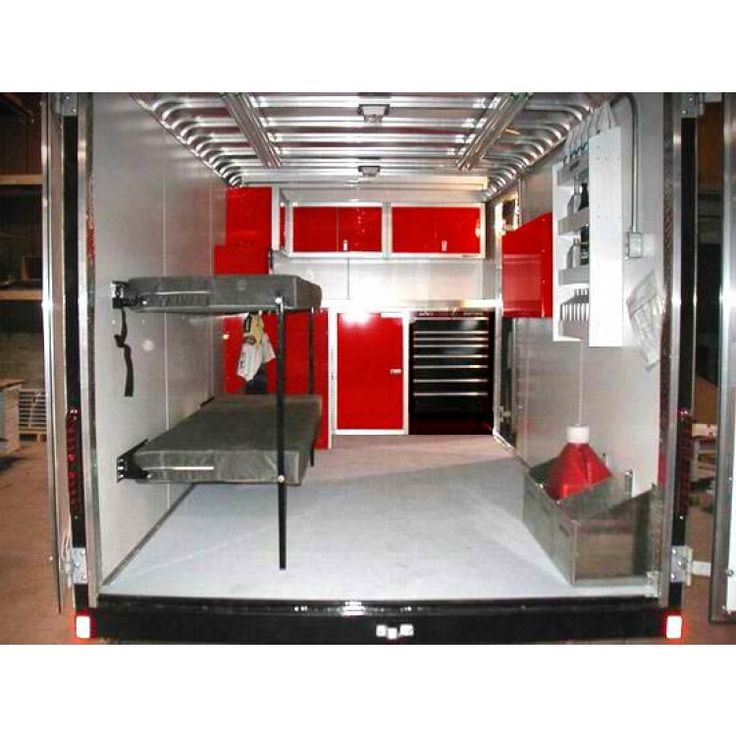 Rb Components Folding Bunk Bed Rv Cargo Trailer Camper