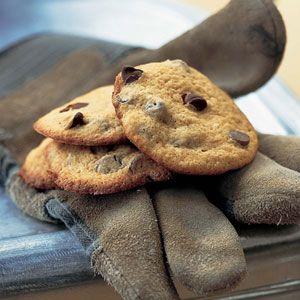 Applesauce Chocolate-Chip Cookies Recipe #thirdsetisthird