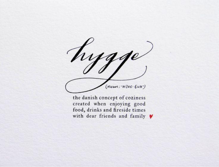 I live, I love, I craft, I am me...: Practising Hygge