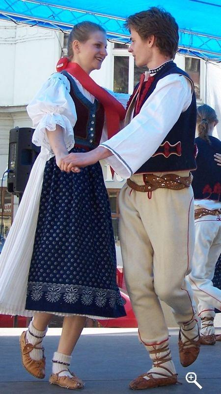 Valašský kroj / Wallachian costume, Czech republic