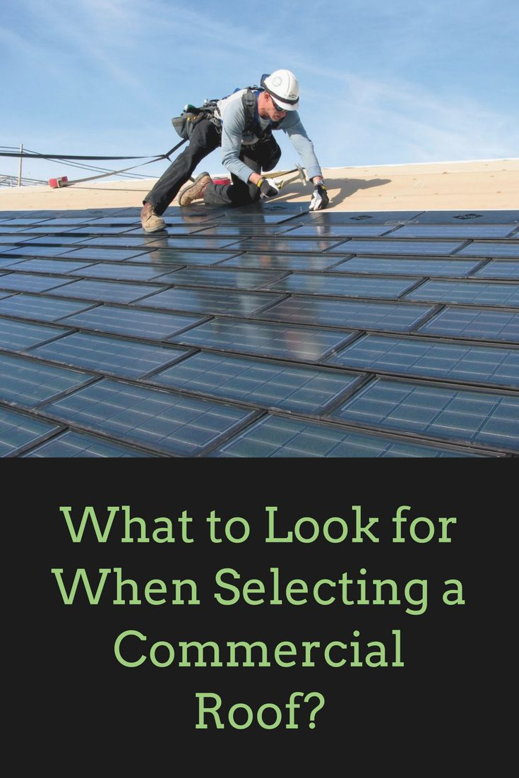 Whether you are a professional contractor or an architect, it can be tough choosing a commercial roof for your project. We have some tips for you, though.