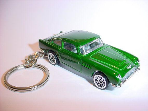 3d 1965 Aston Martin Db5 Custom Keychain By Brian Thornton Etsy Aston Martin Db5 Aston Martin Custom Keychain