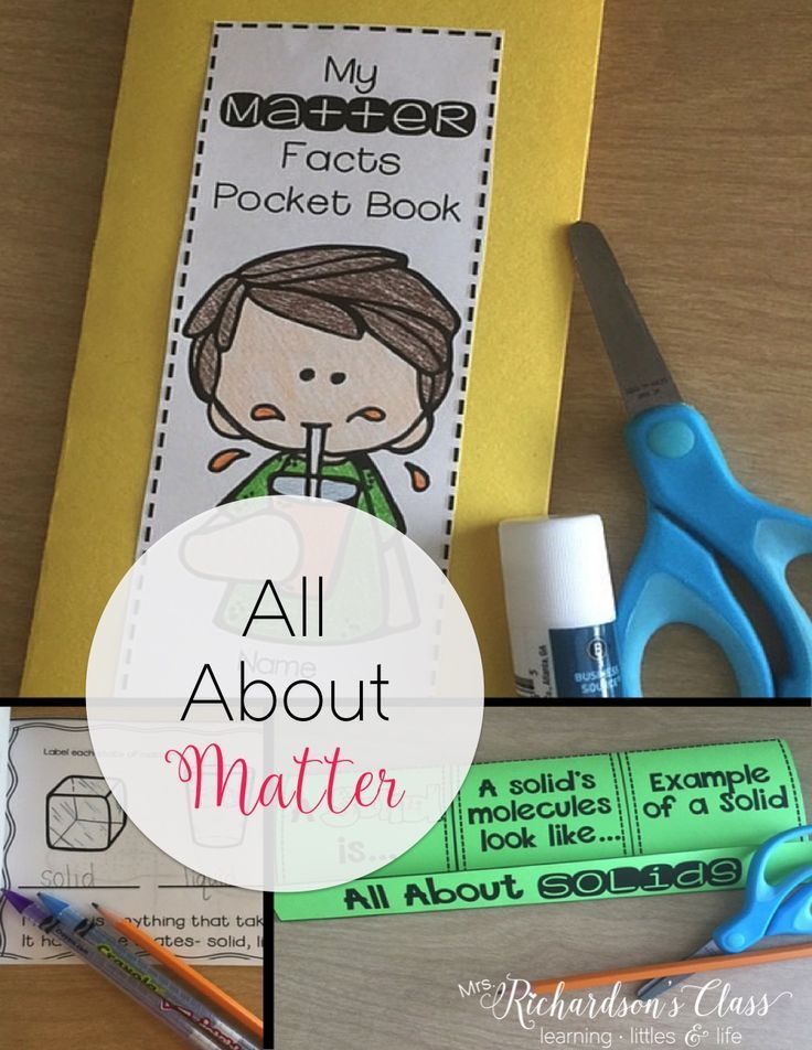 States of Matter is one of my most favorite science units to teach!! My